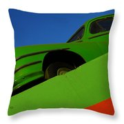 The Way We Roll Throw Pillow