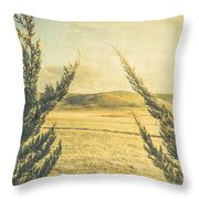 The Wayback Meadow Throw Pillow