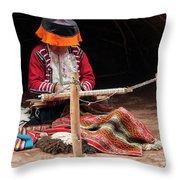 The Weaver Throw Pillow