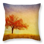 The Wednesday Tree Throw Pillow