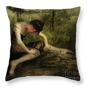 The Weight Of Nature Throw Pillow
