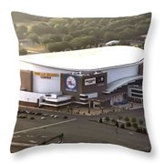 The Wells Fargo Center Throw Pillow