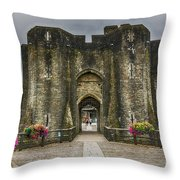 The West Gatehouse 1 Throw Pillow