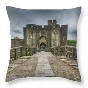 The West Gatehouse 2 Throw Pillow