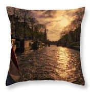 The Westerkerk Amsterdam Throw Pillow