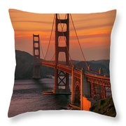 The Western Front Throw Pillow
