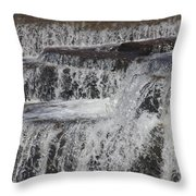 The Wet Sound Of Gravity Throw Pillow