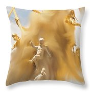 The Whirlwind Throw Pillow