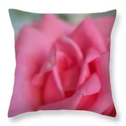 The Whisper Of A Rose Throw Pillow