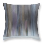 The Whisper Of A Winter Wood Redux Throw Pillow by Wayne King