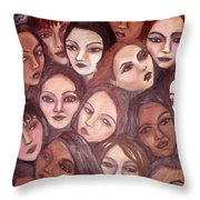 The Whispering Gate Throw Pillow