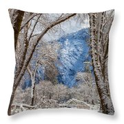 The White Forest Throw Pillow