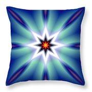 The White Star Throw Pillow