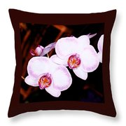 The White Twins Throw Pillow