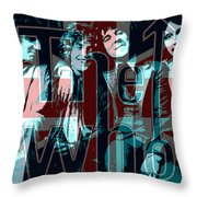 The Who Poster  Throw Pillow