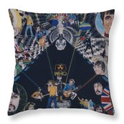 The Who - Quadrophenia Throw Pillow