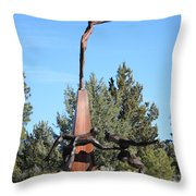 The Why Group Throw Pillow