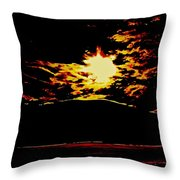 The Widening Gyre Throw Pillow