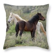 The Wild And Free  Throw Pillow