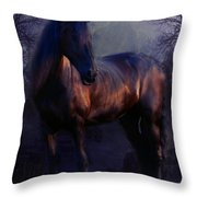 The Wild Mare Throw Pillow