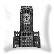 The Williamsburgh Savings Bank Tower, Brooklyn New York Throw Pillow