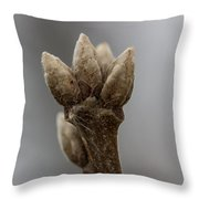The Willow King Throw Pillow