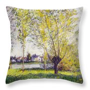 The Willows Throw Pillow