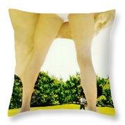 Fanny Throw Pillow