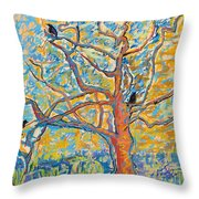The Wind Dancers Throw Pillow