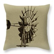 The Windmills Of My Mind Throw Pillow