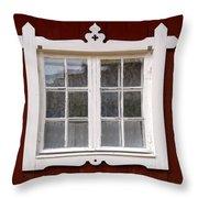 The Window 3 Throw Pillow