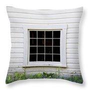 The Window Throw Pillow