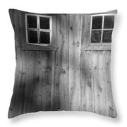 The Windows Are The Eyes To The Soul Throw Pillow