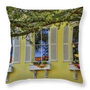 The Windows Of Amelia Island Throw Pillow