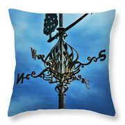 The Winds Of Time Throw Pillow