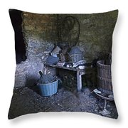 The Wine Cellar Throw Pillow