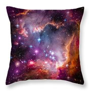 The Wing Of The Small Magellanic Cloud Throw Pillow