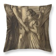 The Winter's Tale Throw Pillow