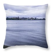 The Wisconsin State Capitol Throw Pillow