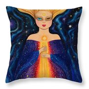 The Wise Throw Pillow