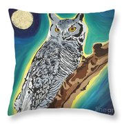 The Wise One Throw Pillow