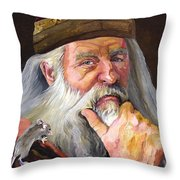 When The Student Is Ready Throw Pillow
