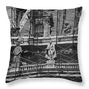 The Wiseguys Throw Pillow