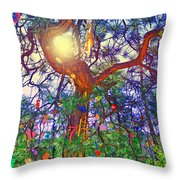 The Wish Tree Throw Pillow