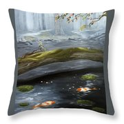 The Wishing Pond  Throw Pillow
