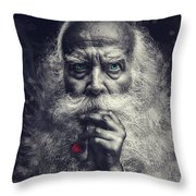 The Wizard Throw Pillow