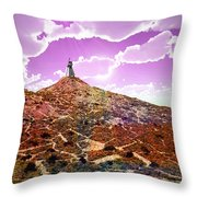 The Wizzard Throw Pillow