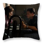 The Wolf Of Wall Street Throw Pillow