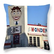 The Wonder Bar, Asbury Park Throw Pillow