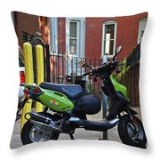 The Wonder Vehicle  Throw Pillow